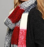 Fleurish Home Soft Thick Brushed Plaid Oblong Scarf
