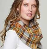 Fleurish Home Classic Plaid Infinity Scarf