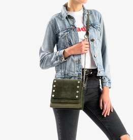 Hammitt Hammitt Bag: Jeffrey Eucalyptus Suede/Leather