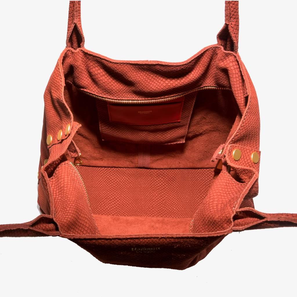 Hammitt Hammitt Bag: Oliver Henna Snake
