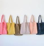 Cotton Velvet Tote Bag (choice of 8 Colors) *last chance