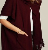 Fleurish Home Knit Open Front Poncho