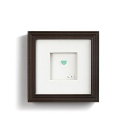 "Sharon Nowlan Simple Love Pebble Art 6"" Square"