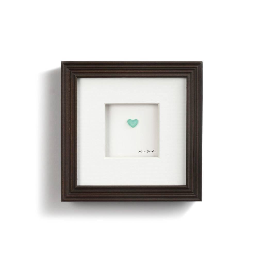 "Sharon Nowlan Simple Love Pebble Art 6"" Square"