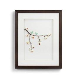 Sweetness of Springtime Pebble Art 16x20