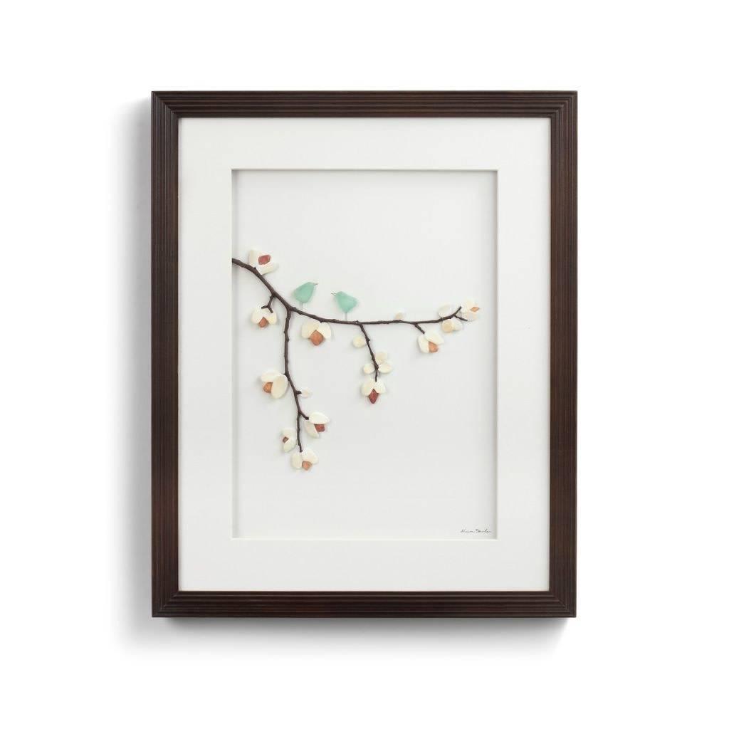 Sharon Nowlan Sweetness of Springtime Pebble Art 16x20