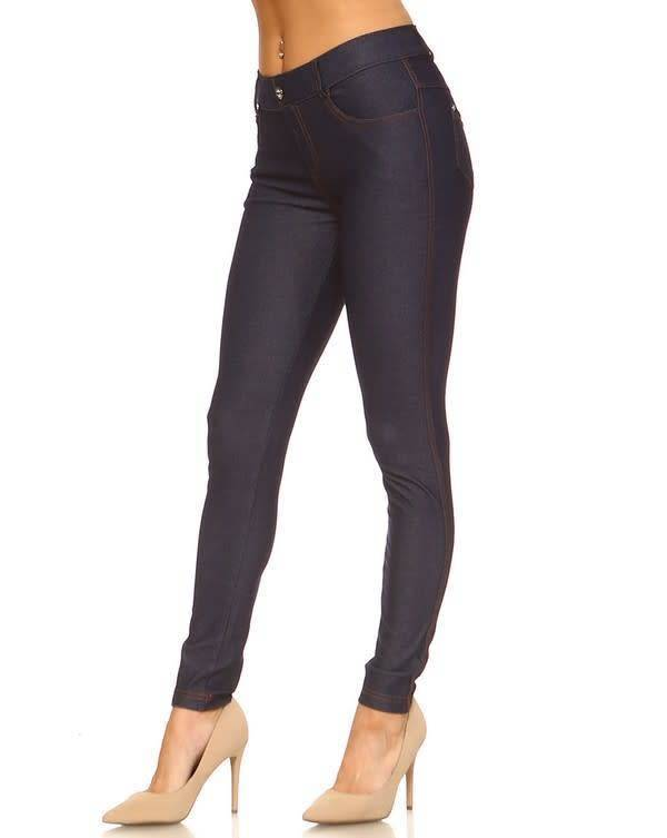 Fleurish Home Blue Denim Jeggings