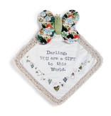 Fleurish Home Butterfly Blankie: Darling You are a Gift to this World