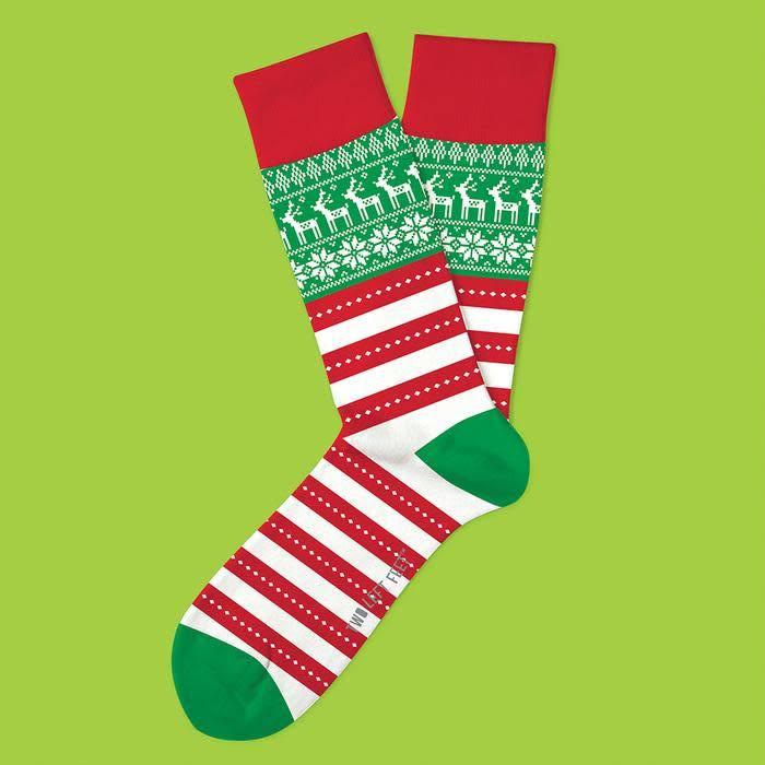Two Left Feet Oh So Ugly Men's Christmas Socks