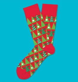 Two Left Feet Pine Grove Men's Christmas Socks