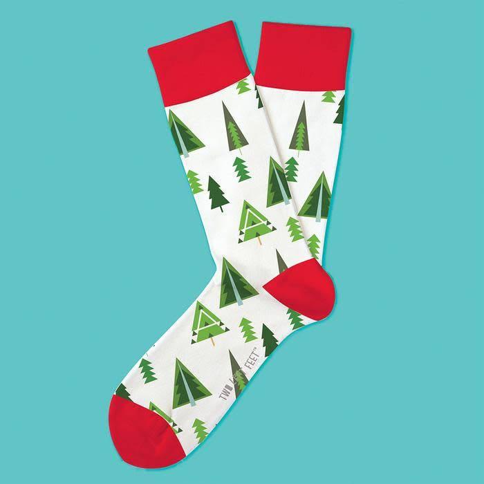 Two Left Feet Spruce Me Up Men's Christmas Socks