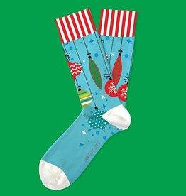 Two Left Feet Trim-a-Tree Men's Christmas Socks