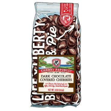 Cherry Republic Dark Chocolate Cherry Republic Cherries 8oz