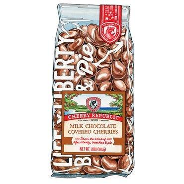 Cherry Republic Milk Chocolate Cherry Republic Cherries 8oz
