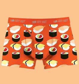 Two Left Feet Sushi Yum Yum Men's Boxer Brief Undies