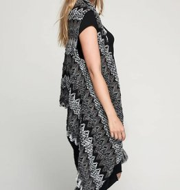 Fleurish Home Multi Thread Missoni Inspired Knit Boucle Vest