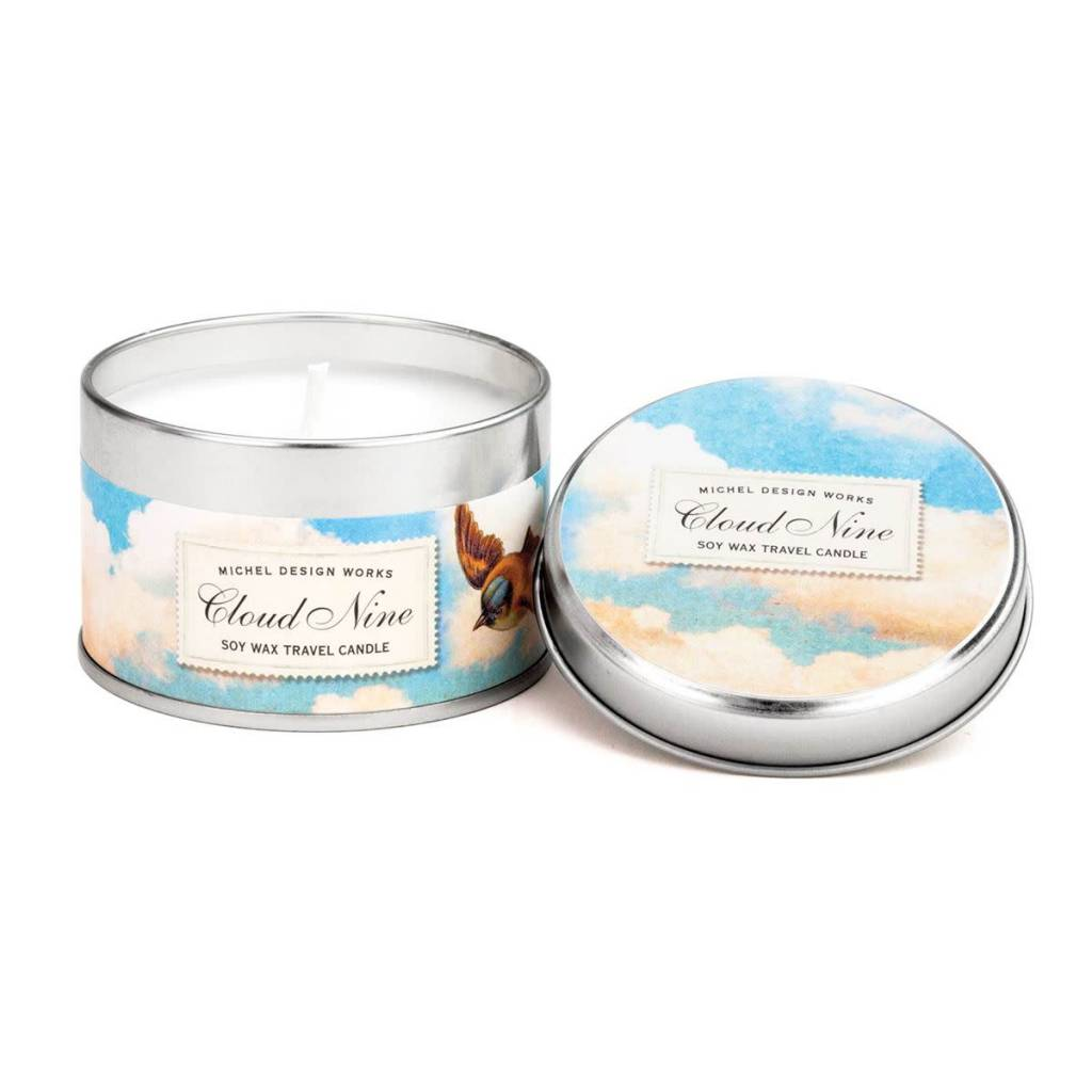 Michel Design Works Cloud Nine Travel Candle *