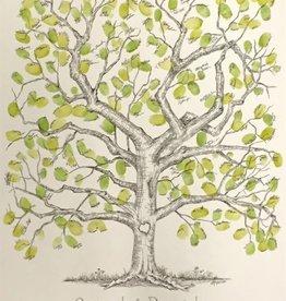 Fleurish Home Sm Thumbprint Tree Print