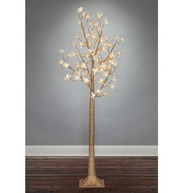 Fleurish Home 6' Lighted Magnolia Tree