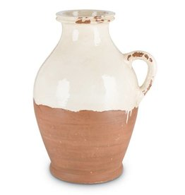 Fleurish Home Cream Terracotta Jug