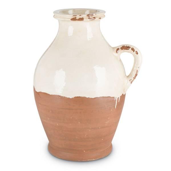 Fleurish Home Cream Terracotta Jug