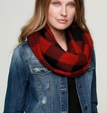 Fleurish Home Buffalo Check Infinity Scarf