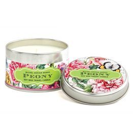 Michel Design Works Peony Travel Candle
