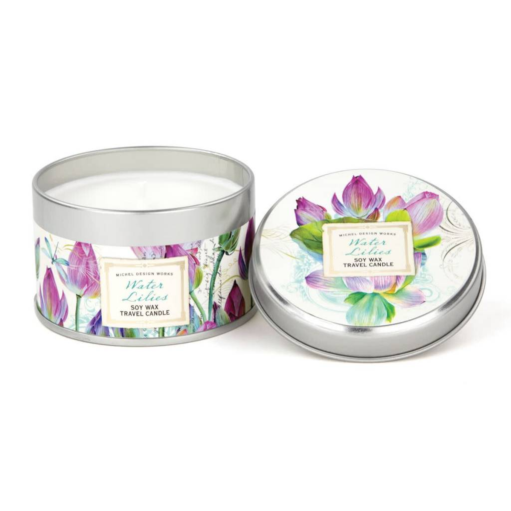 Michel Design Works Water Lilies Travel Candle *final few