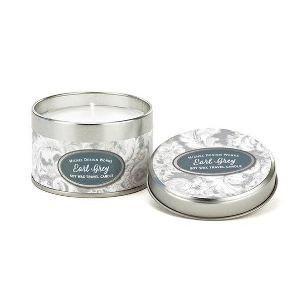 Michel Design Works Earl Grey Travel Candle