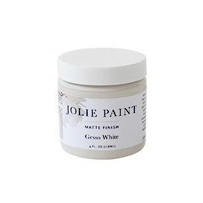 Jolie Home Gesso White Matte Finish Paint