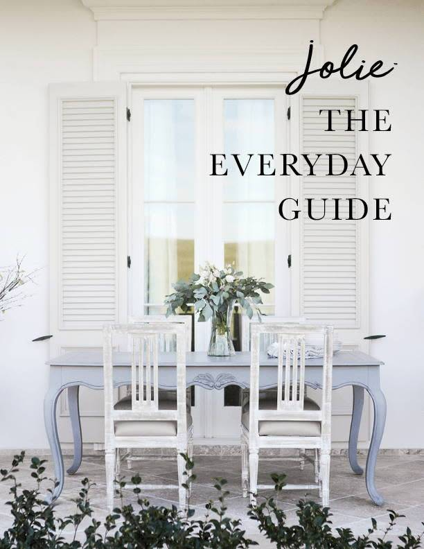 Jolie Home The Everyday Guide by Jolie