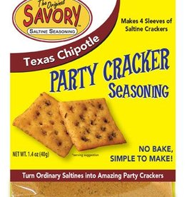 Savory Fine Foods Savory Texas Chipotle Party Cracker Seasoning Mix