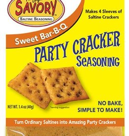 Savory Fine Foods Savory Sweet BBQ Party Cracker Seasoning Mix