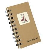 Fleurish Home Mini Wine Journal