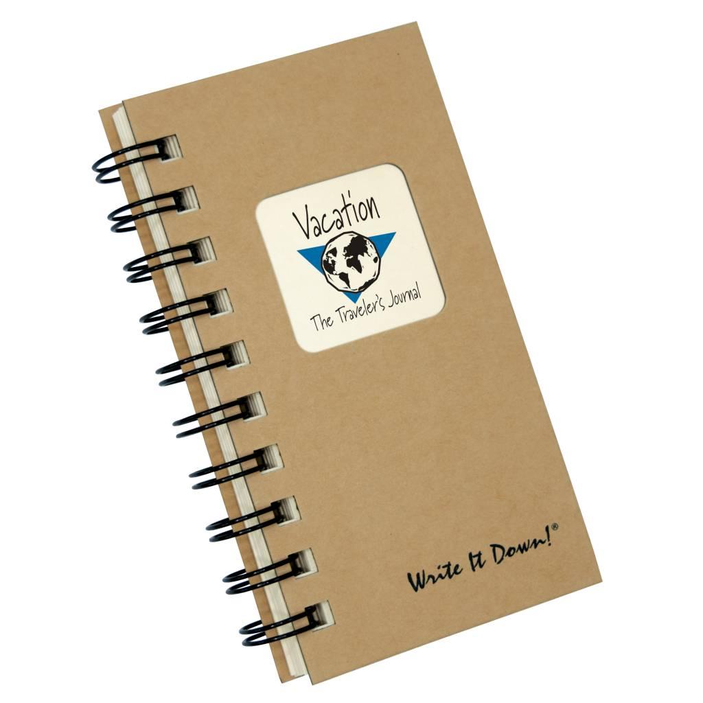 Fleurish Home Mini Vacation Journal
