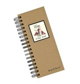 Fleurish Home Spiral Bound Wine Journal