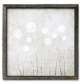 Sweet Gumball Dandelions Shelf Art