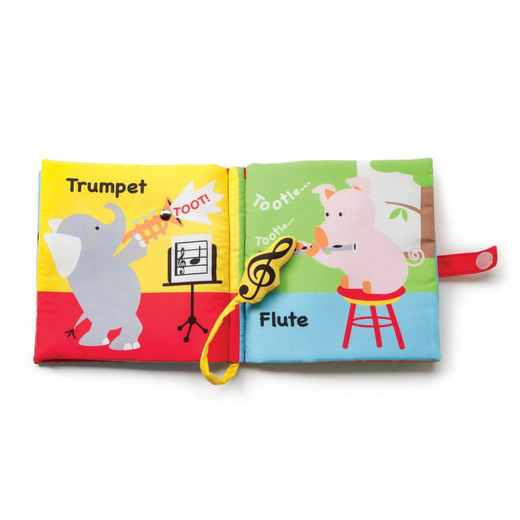 Fleurish Home Musical Friends Book with Sound
