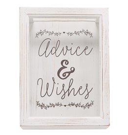 Mudpie ADVICE WISHES KEEPSAKE BOX SET