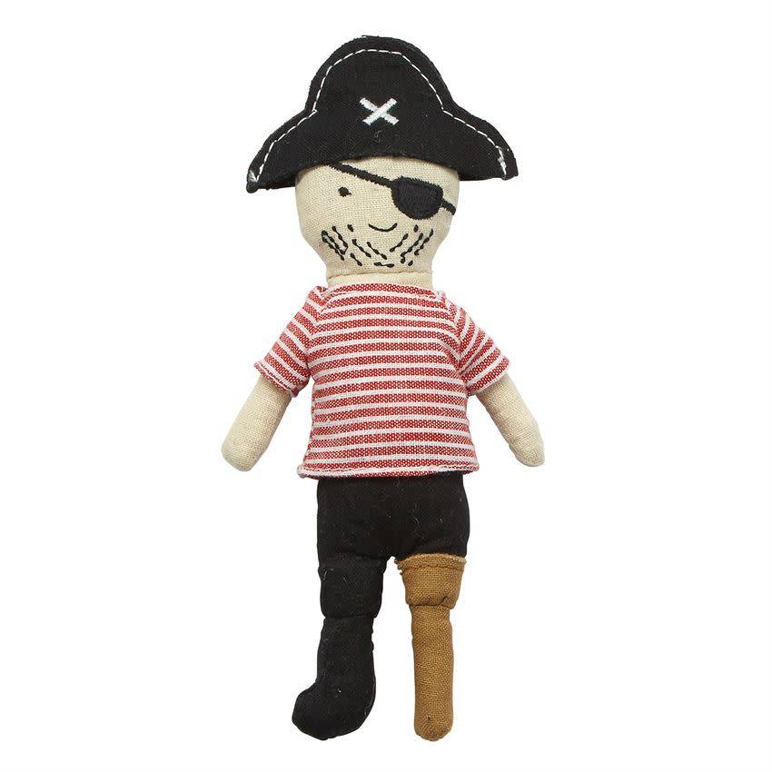 Mudpie PEG LEG PIRATE RATTLE *last chance