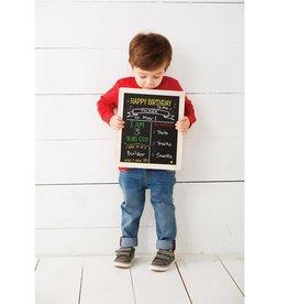Mudpie BIRTHDAY AND SCHOOL CHALKBOARD