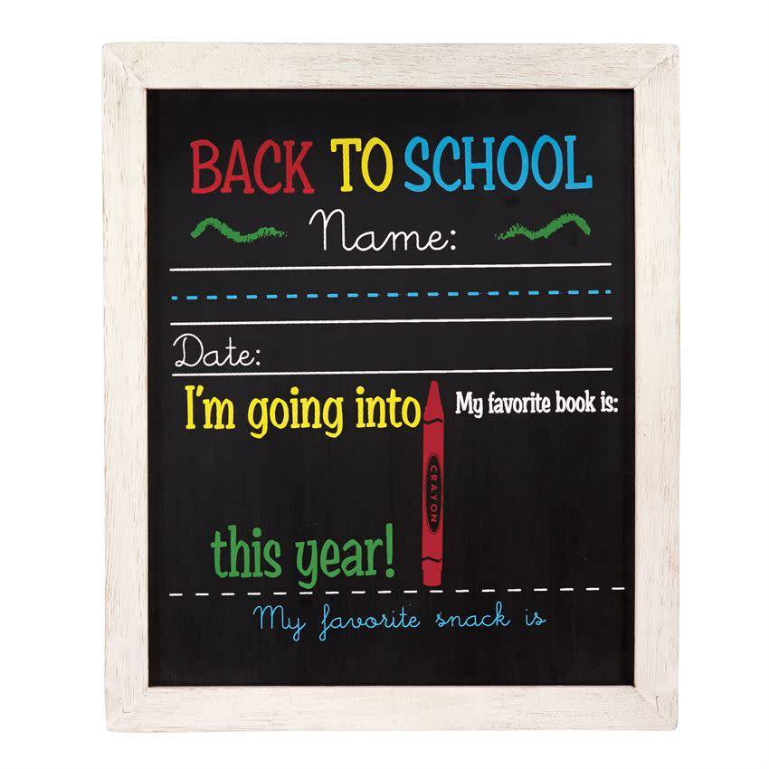Mudpie BIRTHDAY AND SCHOOL CHALKBOARD *last chance
