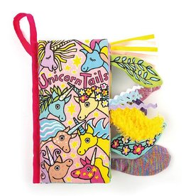 Jellycat Unicorn Tails Activity Book