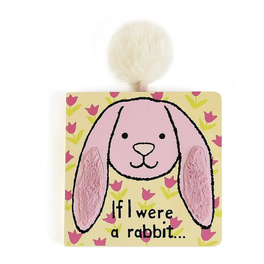 Jellycat If I Were a Rabbit Book (pink)