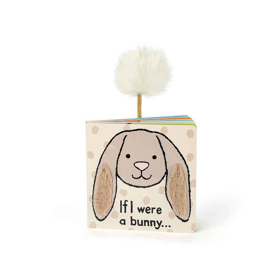 Jellycat If I Were a Bunny Book (Beige)