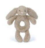 Jellycat Bashful Beige Bunny Ring Rattle