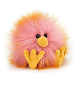 Jellycat Crazy Chick Pink & Orange