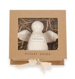 Mudpie BELIEVE POCKET ANGEL