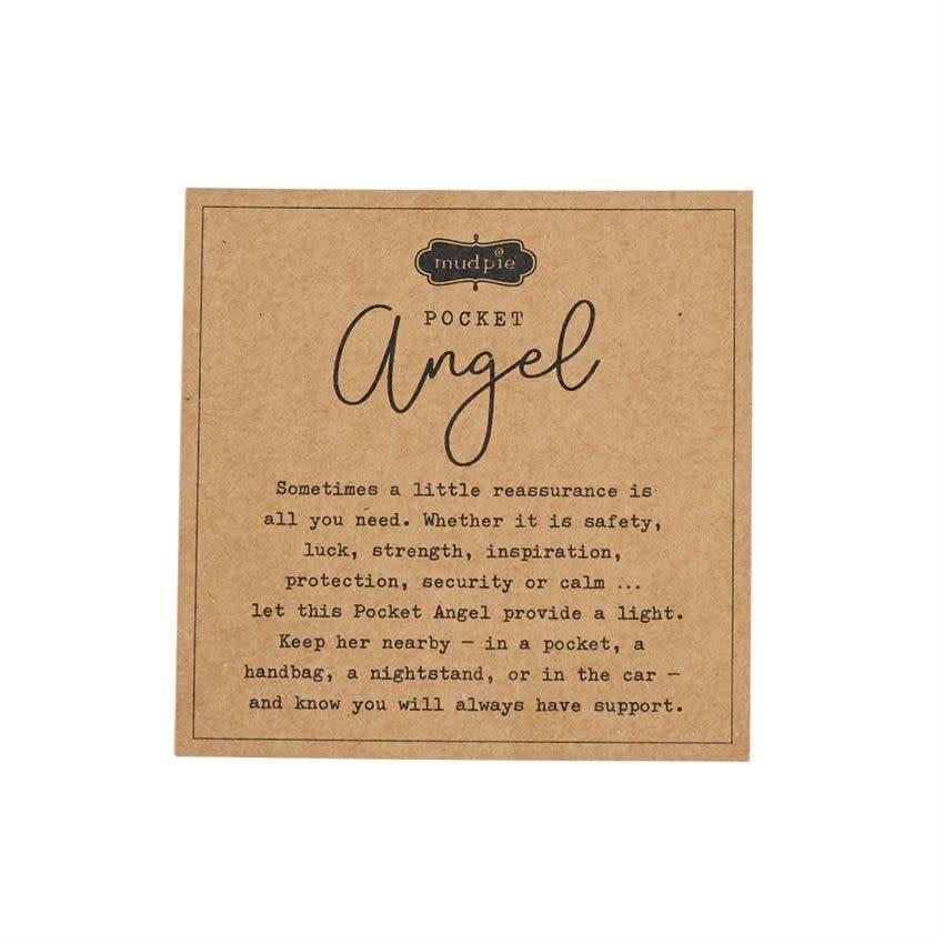Mudpie BELIEVE POCKET ANGEL