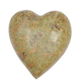 Fleurish Home Soapstone Heart (Each One Will Vary)